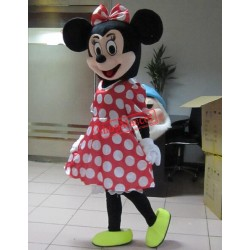 Hot Sale For Minnie Mouse Adult Mascot Costume