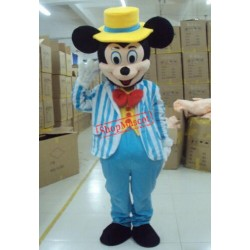 Hot Sale Blue Minkey Mouse Adult Mascot Costume