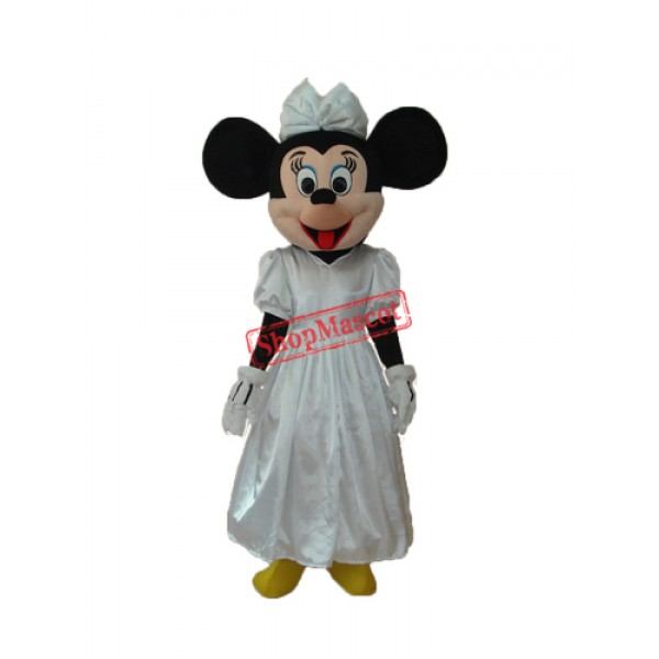 Evening Dress Minnie Mascot Adult Costume