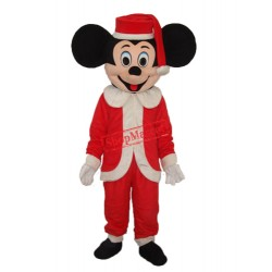 Christmas Mickey Mascot Adult Costume