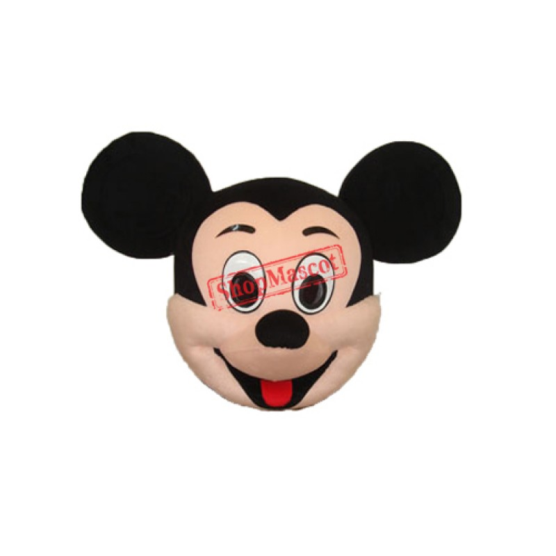 Mickey Head Mascot Adult Costume