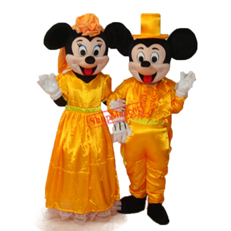 Mickey Mouse Wedding Edition 2 Mascot Adult Costume