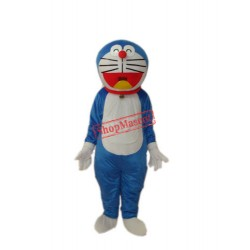 Laughing Doraemon Plush Adult Mascot Costume