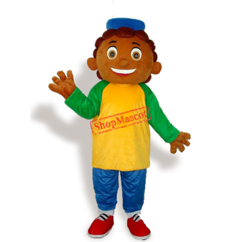 Pineapple Boy Adult Mascot Costume