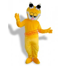 Black Ear Garfield Adult Mascot Costume
