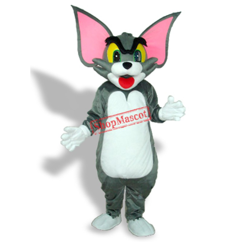 Big Ear Tom Cat Adult Mascot Costume