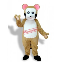 Leopard Cat Adult Mascot Costume