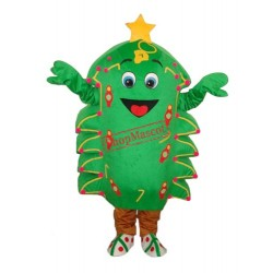 Christmas Tree Mascot Adult Costume