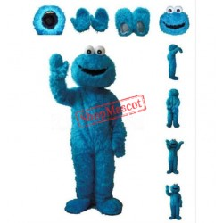 High Quality Blue Sesame Street Mascot Costume