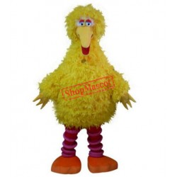 Sesame Street big yellow bird mascot costume