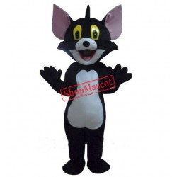 Black Tom Cat costume Cartoon Mascot Costume Free Shipping