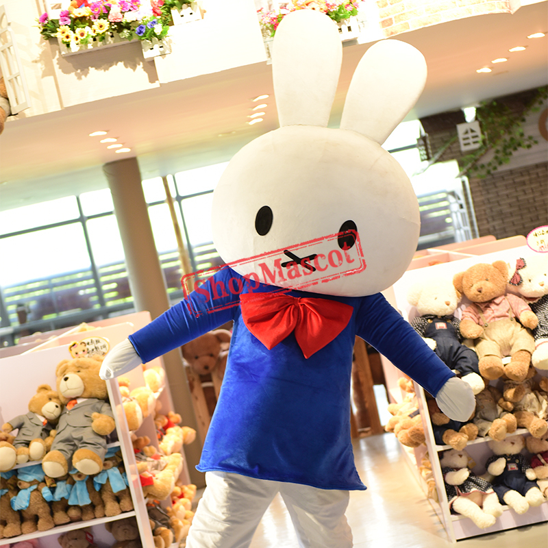 Miffy Rabbit Cartoon Mascot costume Free Shipping