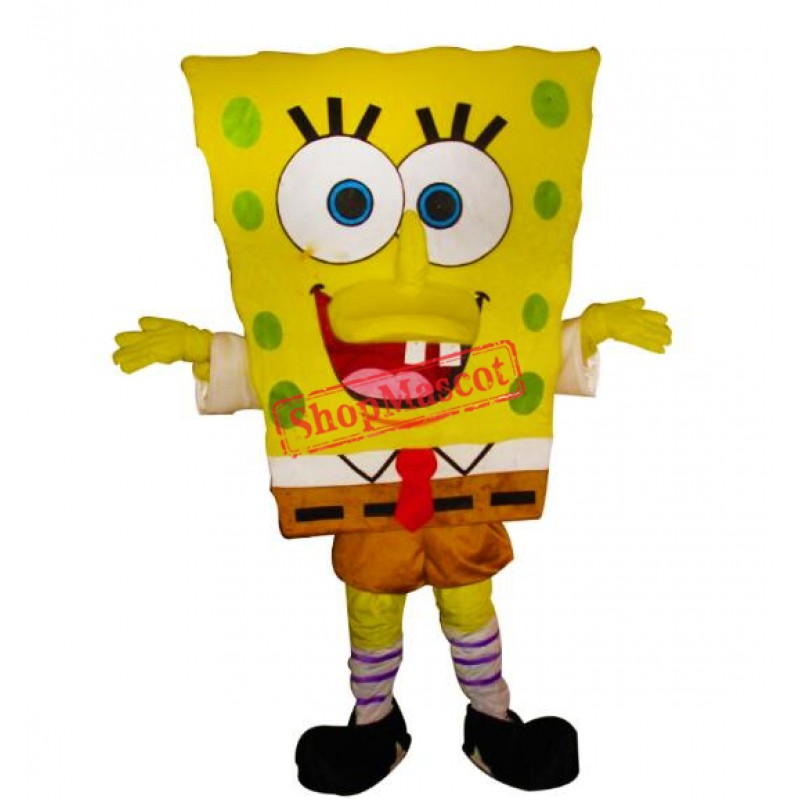 Spongebob mascot costume cartoon Free Shipping