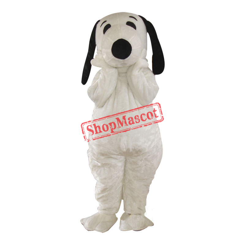 Snoopy Cartoon Mascot Adult Costume Free Shipping