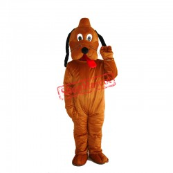 Pluto Dog Mascot Adult Costume Free Shipping