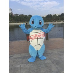 The Head of Squirtle Mascot Adult Costume