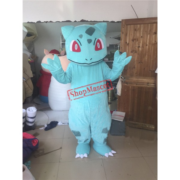 Bulbasaur Mascot Adult Costume Pokemon Pok Free Shipping