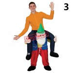 Carry Me Ride on Bear Oktoberfest Costumes Animal Funny Pants Novelty