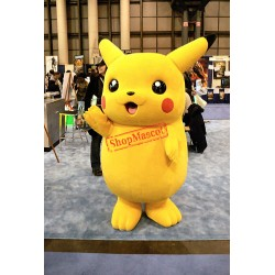 Pikachu Cartoon Mascot Costume Free Shipping