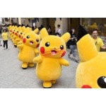 Adult size New Lovely Pikachu mascot costume Free Shipping