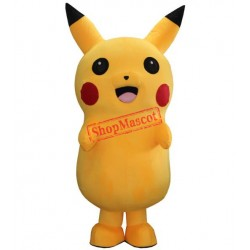 Pikachu Mascot Costume Adult Fancy Party Dress Free Shipping