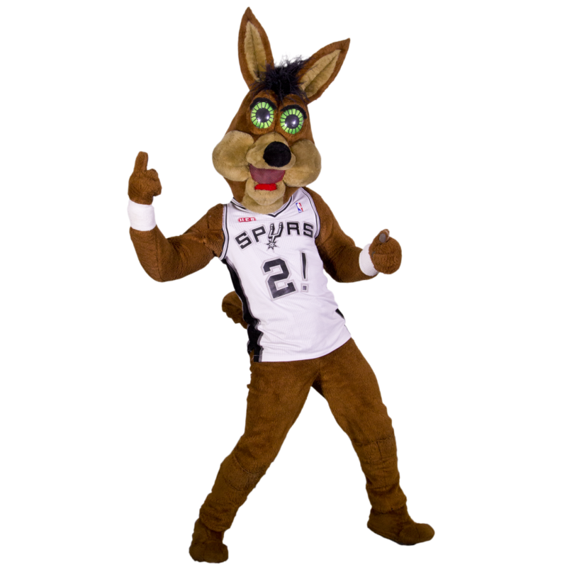 Sport The Coyote Mascot Costume