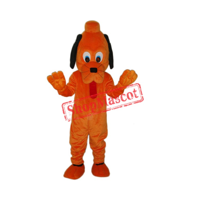 Cute Pluto Dog Mascot Adult Costume Free Shipping