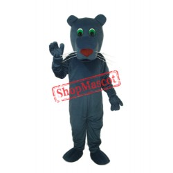 Black Mouth Dog Mascot Adult Costume Free Shipping