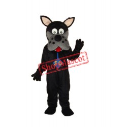 Black Scooby-Doo Mascot Adult Costume Free Shipping