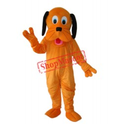 Orange Dog Mascot Adult Costume Free Shipping