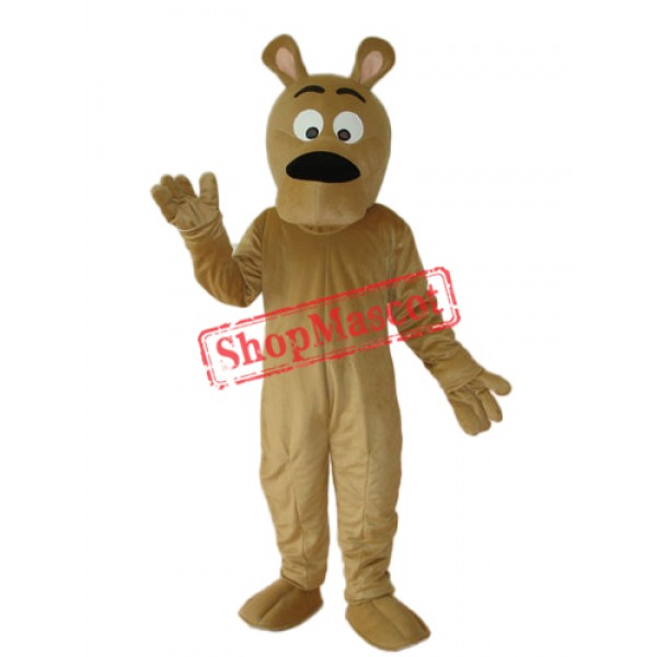 Grey Dog Mascot Adult Costume Free Shipping