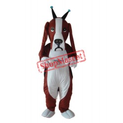 Revised Basset Dog Mascot Adult Costume Free Shipping