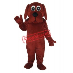 Rooney Brown Dog Mascot Adult Costume Free Shipping