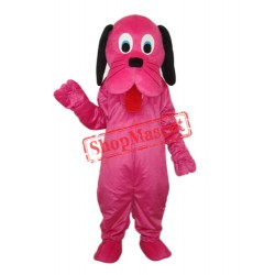 Rose Dog Mascot Adult Costume Free Shipping