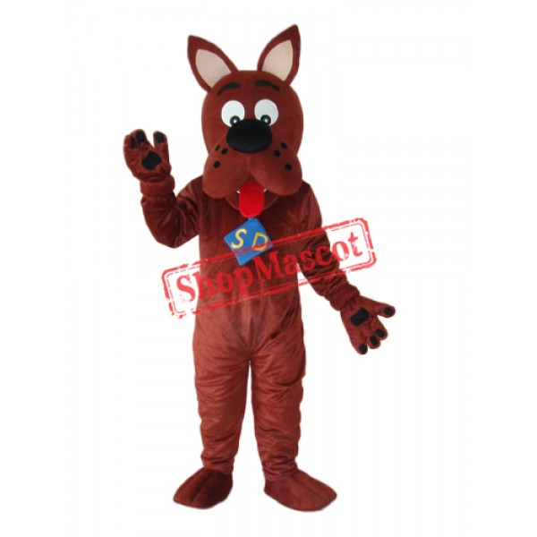 Scooby-Doo Mascot Adult Costume Free Shipping