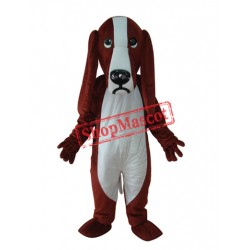 Short Plush Dog Adult Mascot Costume Free Shipping