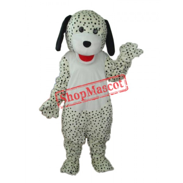 Spotted Colourful Dog Mascot Adult Costume Free Shipping