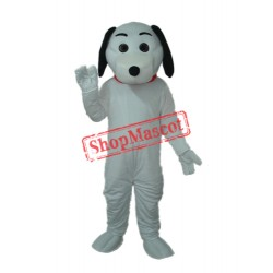 Little White Dog Mascot Adult Costume Free Shipping