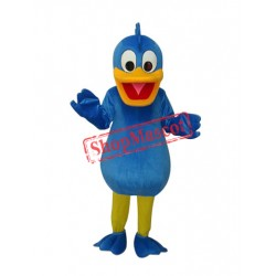 Blue Duck Plush Mascot Adult Costume Free Shipping