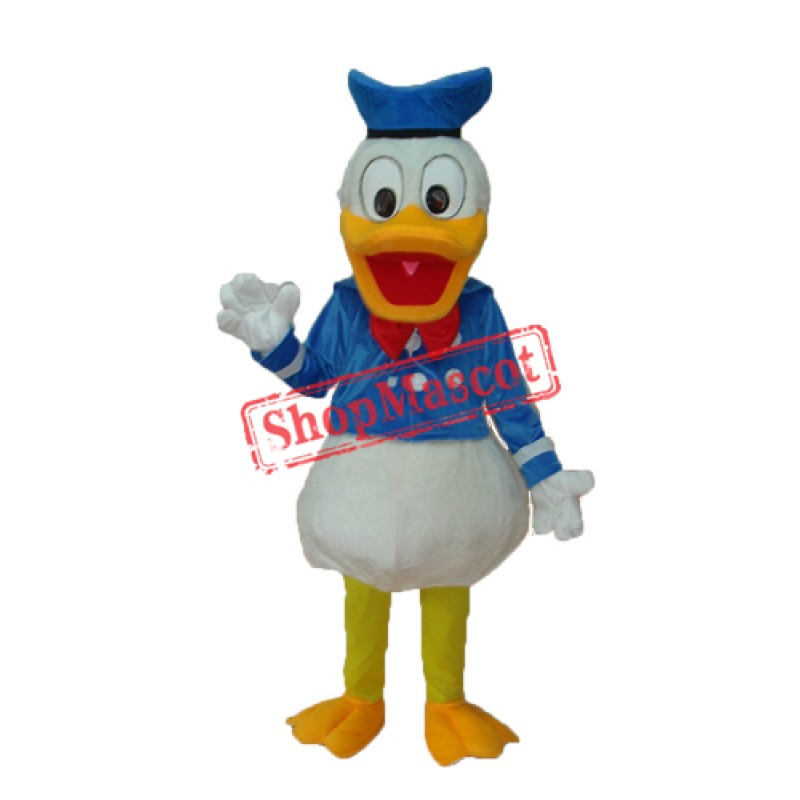 New Donald Duck Mascot Adult Costume Free Shipping