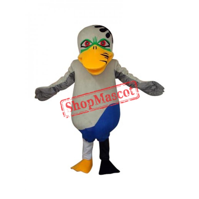 Odd Duck Mascot Adult Costume Free Shipping