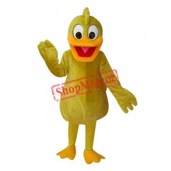 Yellow Duck Adult Mascot Costume Free Shipping