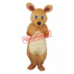Big Eyes Kangaroo Adult Mascot Costume Free Shipping