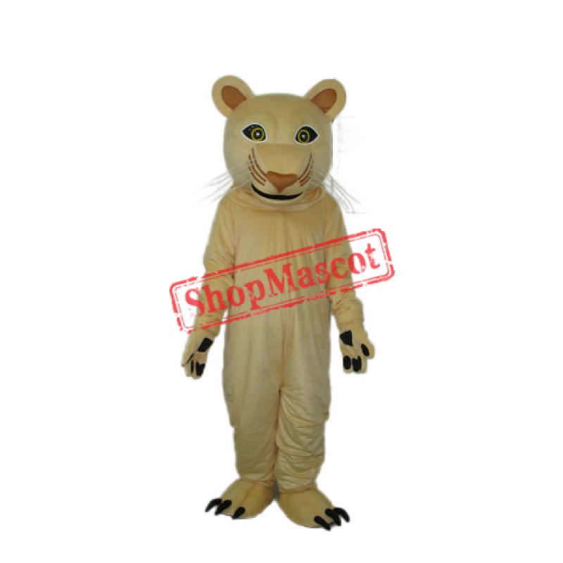 2nd Version of Cougar Mascot Costume Free Shipping