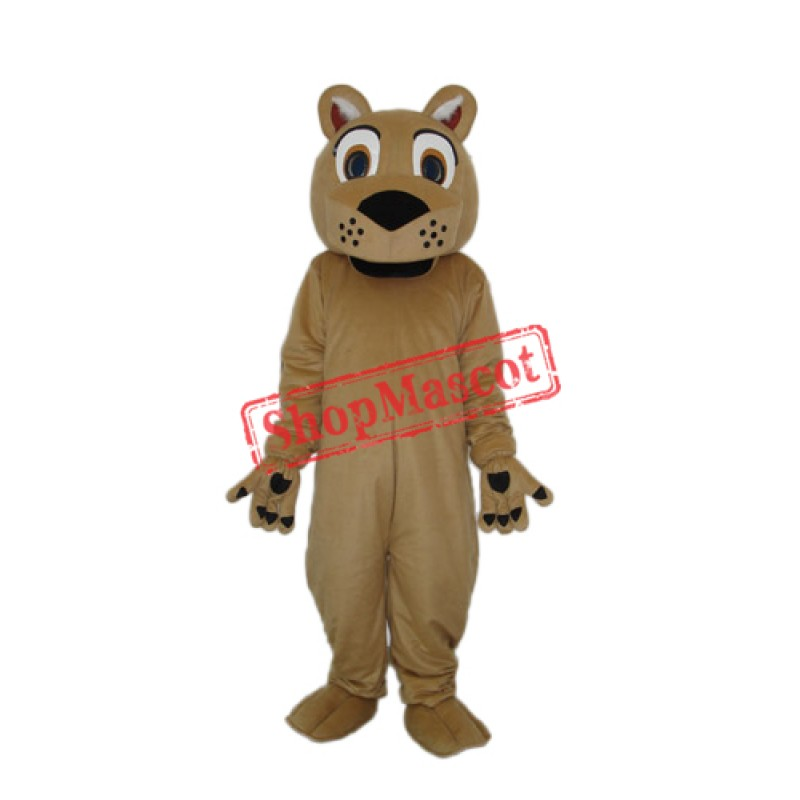 Beardless Lion Mascot Adult Costume Free Shipping