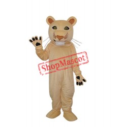 Cougar Mascot Adult Costume Free Shipping