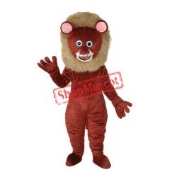 Dark Brown Lion Mascot Adult Costume Free Shipping