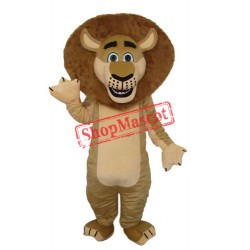 Lion in Madagascar Mascot Adult Costume Free Shipping