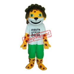 Obama Lion with Logo Mascot Adult Costume Free Shipping