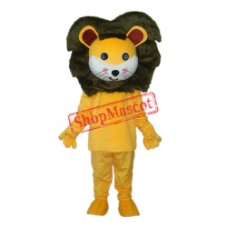 Small Yellow Lion Mascot Adult Costume Free Shipping